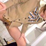 【逆レイプ】ロリ痴女JKが男子トイレで男を顔面騎乗で強制クンニ!犬呼ばわりで放尿までされたけど最後はフェラチオで抜いてくれた(麻里梨夏)