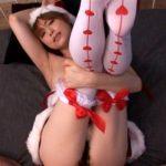 【サンタコスプレ】久しぶりのクリスマスセックスで絶叫しながら喘ぐ痴女妻(吉沢明歩)