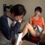 【痴女JK】家庭教師の勃起したチンポに気づいた女子生徒が興奮してオマンコに入れたがる(向井藍)