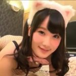 【中出し】猫耳アミタイツにパイパンマンコの可愛いロリっ子とホテルでハメ撮り(宮崎あや)
