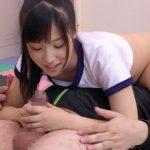 【フェラ抜き】ブルマ痴女JKがシックスナインの体勢で教師のチンポをノーハンドフェラ(栄川乃亜)